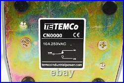 10 pcs TEMCo Foot Switch 10A SPDT NO NC Electric Pedal Momentary Control New LOT