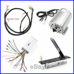 1800W 48V DC Brushless Motor Speed Controller Foot Pedal Wire Harness E-Scooter