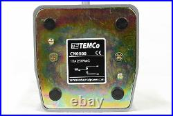 2 pcs TEMCo Foot Switch 10A SPDT NO NC Electric Pedal Momentary Control New LOT