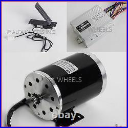 #35 sprocket 1000 W 48V DC electric motor w base+speed controller+Foot Pedal