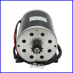 48V 1000W DC Electric Motor Kit with Base Speed Controller & Foot Pedal Throttle#