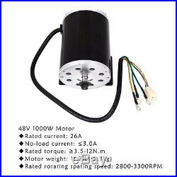 48V 1800W Brushless DC Electric Motor & Controller & Foot Pedal & Wiring Harness