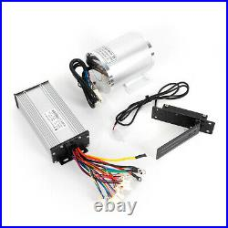 48V 1800W Brushless Motor Kit with Foot Pedal &Controller Electric Bicycle Scooter