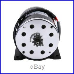 500W 24V DC Brush Electric Motor + Speed Controller + Foot Pedal Throttle Gokart