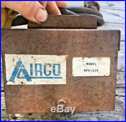 AIRCO / MILLER REMOTE FOOT PEDAL MODEL RFC-23A Control Tig Welding Accessory