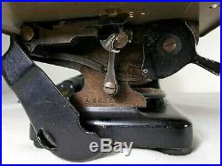 ANTIQUE WILLCOX & GIBBS CHAIN STITCH SEWING MACHINE, with FOOT CONTROL PEDAL