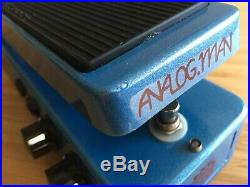 Analog Man Foot Chorus pedal with TRUE STEREO outputs, depth toggle, mix control