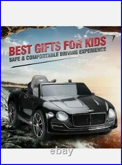 BENTLEY Kids Ride on Car 12V Battery Child Toy with Remote Control & Foot Pedal