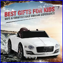 BENTLEY Kids Ride on Toy Car- 12V Battery Powered with Remote Control & Foot Pedal