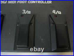 BOSS FC-50 MIDI Foot Controller with FS-5U 2 Footswitch Pedals