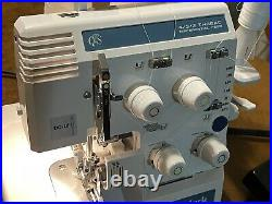 Baby Lock Pro Line Serger BL4-838D 4-Thread Sewing Machine With Foot Control Pedal