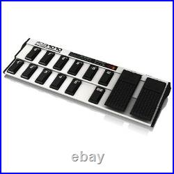 Behringer FCB1010 Expression Pedals Presets Merge Function MIDI Foot Controller