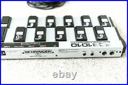 Behringer FCB1010 MIDI Foot Controller Pedal with Eureka Prom Mod