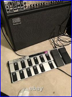 Behringer FCB1010 MIDI Foot Controller With 2 Expression Pedals Barely Used