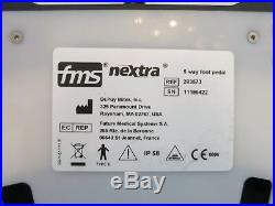 Depuy Mitek Fms Nextra 5 Way Foot Pedal Athroscopic Footswitch Drill Shaver Pump