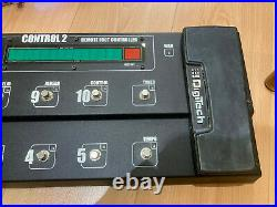 Digitech Control 2 foot pedal for GSP 1101 guitar effects