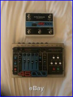 Electro-Harmonix 45000 Looper Guitar Effect Pedal with Foot Controller
