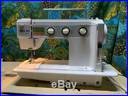 Elna 500 Electronic Sewing Machine With Air Foot control pedal