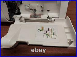 Elna 614 De Serger Overlock Sewing Machine With Pedal Foot Control