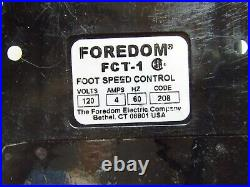 FOREDOM FLEXSHAFT MOTOR ROTARY TOOL with FOOT SPEED CONTROL PEDAL FCT-1