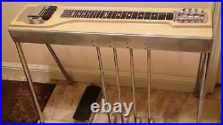 Fender 8 String / 4 Pedal with Volume Foot Control Steel Guitar With Hard Case