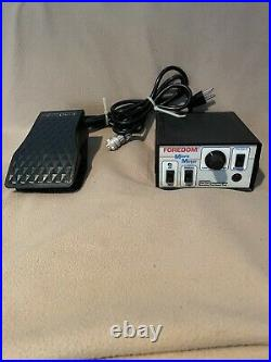 Foredom Micro Motor Control Unit + Foot Pedal, Very Good Condition, Used