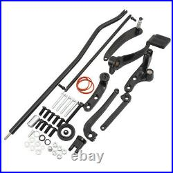 Forward Controls Foot Pedal Pegs Kit Levers Linkage Set For Harley Dyna 2006-17