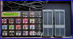 Fractal Audio MFC-101 Mark II MIDI Foot Controller With Exp Pedals / Case