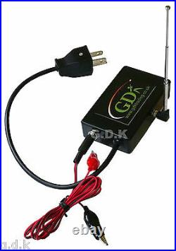 GDK 300m wireless radio foot pedal system, control, clay pigeon trap release