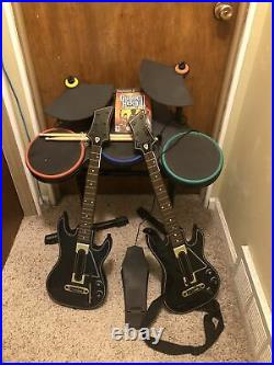 Guitar Hero Wireless Drum Controller XBox 360 With Foot Pedal 95519.805 Read
