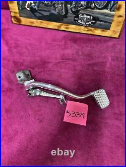 Harley fxr mid control right side brake pedal pivot peg mount Oem All Year Foot