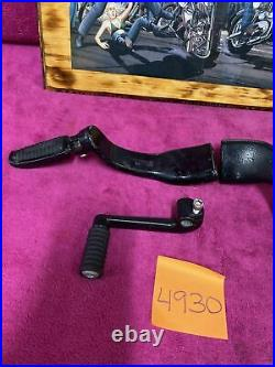 Harley sportster mid control 2014 and up foot peg mount shifter brake pedal set