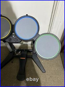 Harmonix Rock Band 822148 Wired Drum Set PS2 PS3 PS4 with Foot Pedal
