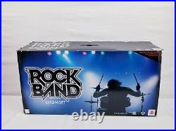 Harmonix Rock Band 822148 Wired Drum Set PS2 PS3 PS4 with Foot Pedal & Drumsticks