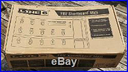 LINE 6 FBV Shortboard MkII Guitar Amplifier Foot Controller Pedal New in Box