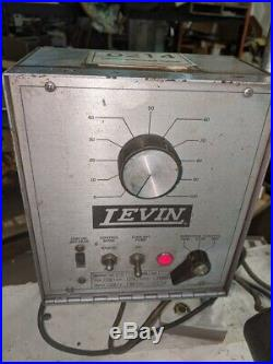 Levin Lathe Incl Spindle, Bed, Collet Closer, Motor, Controller, Foot Pedal