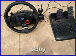 Logitech GT Driving Force Steering Wheel + Foot Pedals PS2, PS3 and PC E-X5C19