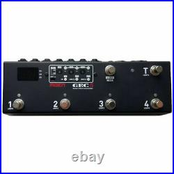 MOEN GEC-5 MIDI Guitar Pedal FX Switcher 5 Loop Foot Controller Routing System