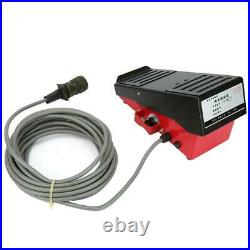 Magnetic Induction Foot Control Pedal MIG TIG For HITACHI Welder with 7.2M Cable