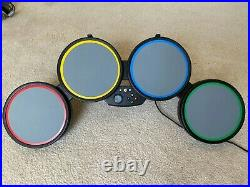 Microsoft Xbox 360 Harmonix Rock Band Drum Set with Stand and Foot Pedal 822149