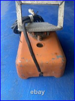 Mullenbach Arctrol Welding Remote Foot Control Pedal for TIG Welder Used