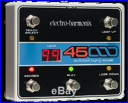 New Electro-Harmonix EHX 45000 Multi-Track Looping Recorder Pedal withFoot Control