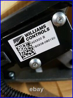 New Williams- Electronic Throttle Control Foot Pedal Assy #A1330008-001