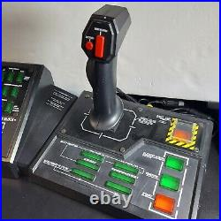 Original Xbox Steel Battalion Green Buttons Controller and Foot Pedals Complete
