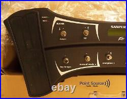 Peavey Sanpera II Vypyr Dual Foot Controller 10 Footswitches 2 Expression Pedal