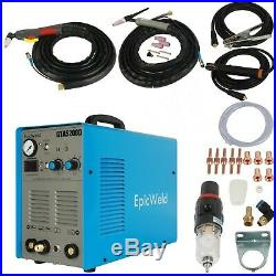 Plasma Cutter 50 A 200 Amp Tig & Arc Welder 3 in 1 INCLUDES FOOT PEDAL CONTROLER