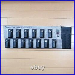 Roland FC-200 MIDI Foot Controller 10 Location Pedals Used Tested Free Shipping