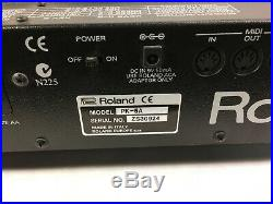 Roland PK-5A 13 Note Dynamic Midi Foot Pedal Controller -RR