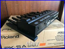 Roland PK-5A Dynamic Foot Pedal and MIDI Controller with box power supply