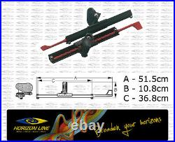 SeaLect Designs Kayak Rudder Control Footrest, Foot braces, Foot pegs Pedals